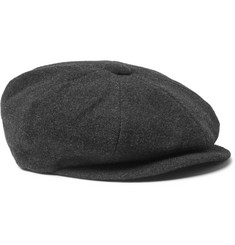 Lock & Co Hatters Muirfield Virgin Wool And Cashmere-Blend Newsboy Cap