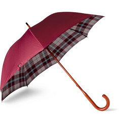 London Undercover Maclean Beech Wood-Handle Umbrella