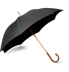 London Undercover City Gent Bamboo-Handle Umbrella