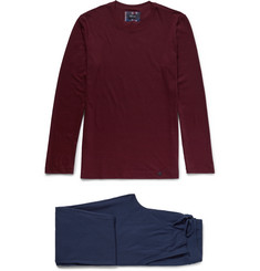 Hanro - Alberto Cotton-Jersey Pyjama Set