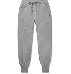Hanro Luis Slim-Fit Tapered Loopback Stretch-Cotton Jersey Sweatpants