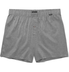 Hanro Striped Mercerised Cotton Boxer Shorts