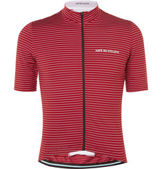 Cafe du Cycliste Francine Mid-Weight Striped Cycling Jersey