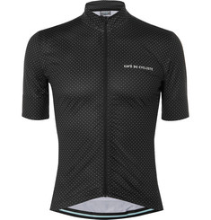 Cafe du Cycliste Fleurette Stretch-Shell Cycling Jersey