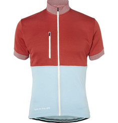 Cafe du Cycliste Violette Knitted Cycling Jersey