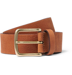 Anderson's - 3.5cm Tan Leather Belt