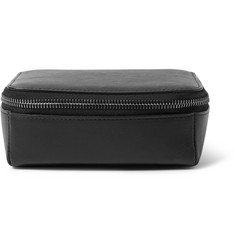 This Is Ground - Mini Tech Dopp Kit Leather Travel Organiser