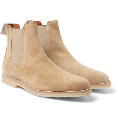 Common Projects - Suede Chelsea Boots  Chelsea Boots