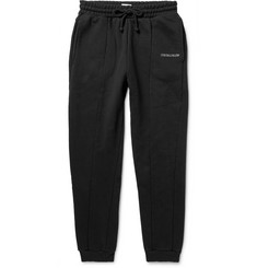 Vetements Panelled Loopback Cotton-Blend Jersey Sweatpants