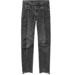 Vetements - Levi's Slim-Fit Panelled Denim Jeans