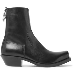 Vetements Leather Boots