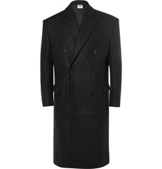 Vetements Oversized Wool-Blend Coat
