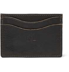 RRL Textured-Leather Cardholder