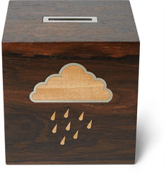 Linley Rainy Day Wooden Money Box