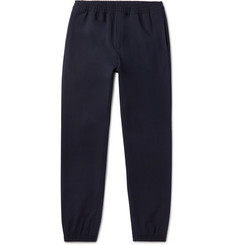 A.P.C. Jared Tapered Stretch-Gabardine Sweatpants
