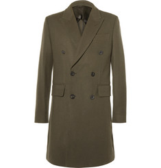 Hardy Amies Double-Breasted Cashmere Coat