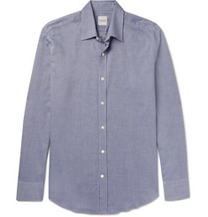 Hardy Amies Slim-Fit Cotton-Twill Shirt
