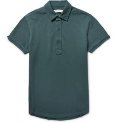 Orlebar Brown - Sebastian Slim-Fit Cotton-Piqué Polo Shirt