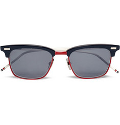 Thom Browne - D-Frame Acetate Sunglasses