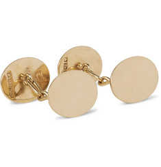 Foundwell Vintage 1919 18-Karat Gold Cufflinks