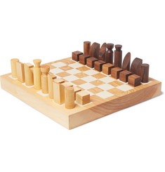 Folk Wooden Chess Set