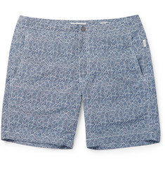 Onia - Calder Mid-Length Printed Swim Shorts