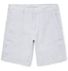 Onia - Abe Striped Linen Shorts
