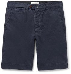 Officine Generale - Fisherman Cotton-Twill Shorts