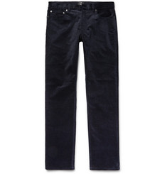 Club Monaco - Slim-Fit Stretch-Cotton Corduroy Trousers