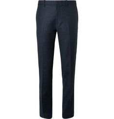 Club Monaco Slim-Fit Mélange Wool-Felt Trousers