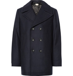 Club Monaco - Virgin Wool-Blend Peacoat