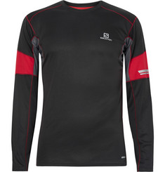 Salomon Agile Mesh-Trimmed AdvancedSkin ActiveDry T-Shirt