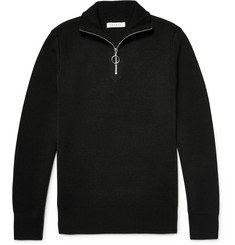 Sandro Knitted Half-Zip Sweater