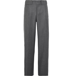 Sandro Wide-Leg Twill Trousers