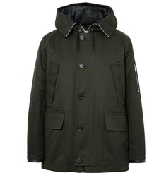 Sandro Cotton Hooded Parka