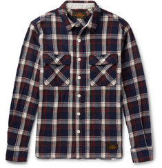 Neighborhood - Checked Cotton-Flannel Shirt
