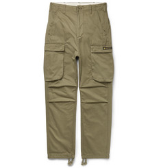 Neighborhood Brushed-Cotton Cargo Trousers