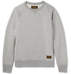 Neighborhood Fleece-Back Cotton-Jersey Sweatshirt