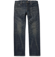 Neighborhood Slim-Fit Washed-Denim Jeans