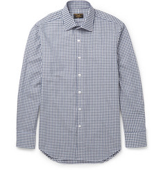 Emma Willis Slim-Fit Gingham Brushed-Cotton Shirt