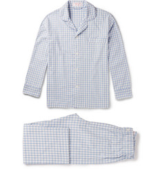 Emma Willis - Gingham Brushed-Cotton Pyjama Set