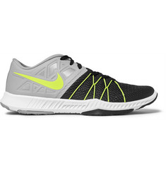 Nike Training Zoom Train Incredibly Fast Mesh and Rubber Sneakers