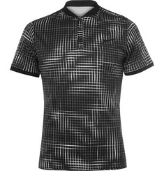 Nike Tennis - Advantage Premier Printed Dri-FIT Tennis Polo Shirt