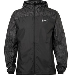 Nike Running - Panelled Ripstop Shell Jacket