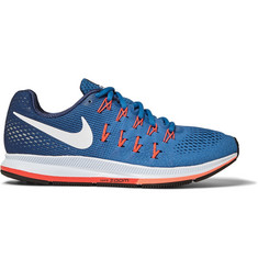 Nike Running - Air Zoom Pegasus 33 Mesh Running Sneakers