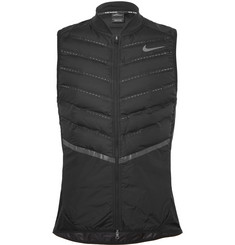 Nike Running Aeroloft Perforated Quilted Shell Down Gilet