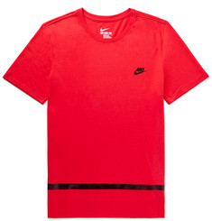 Nike Contrast-Trimmed Jersey T-Shirt