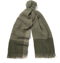 Begg & Co - Kishorn Patterned Cashmere Scarf