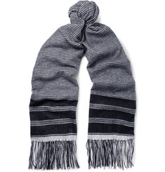 Begg & Co - Arran Patterned Cashmere Scarf