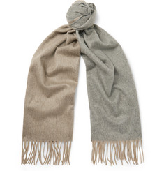 Begg & Co - Arran Two-Tone Cashmere Scarf